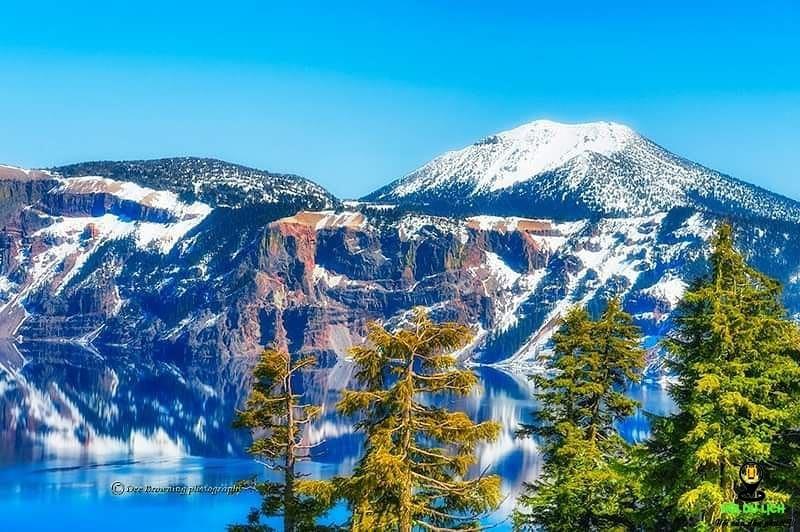 Vẻ đẹp huyền bí của hồ Crater