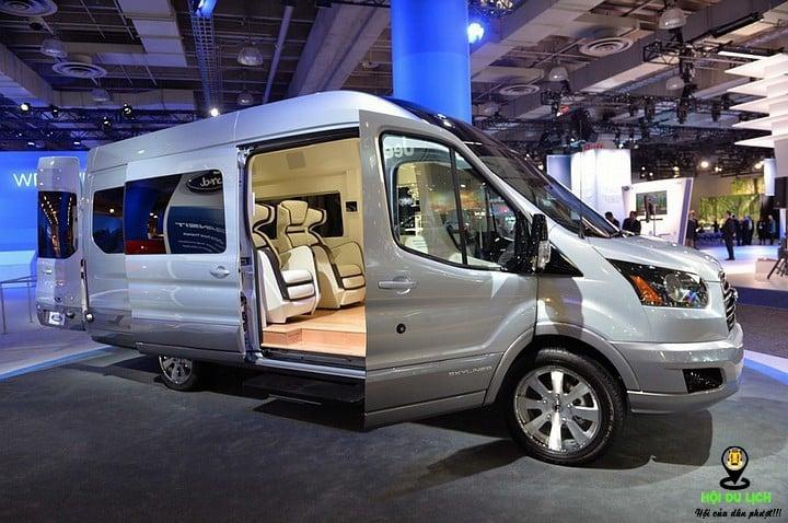 Thiết kế hiện đại và sang trọng của dòng xe Limousine Thảo Châu
