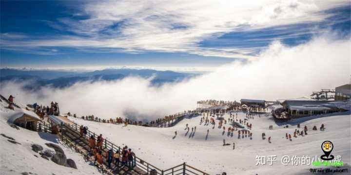 Khung cảnh Núi tuyết Ngọc Long