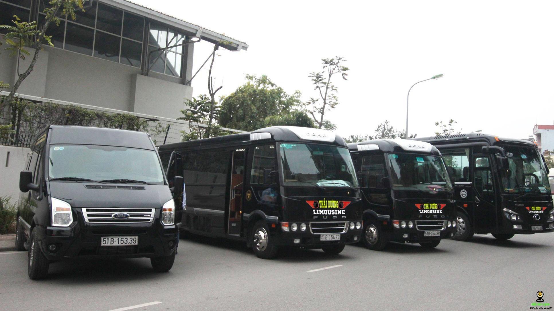 Dàn xe Limousine của nhà xe Thái Dương được nhập khẩu trực tiếp từ nước ngoài