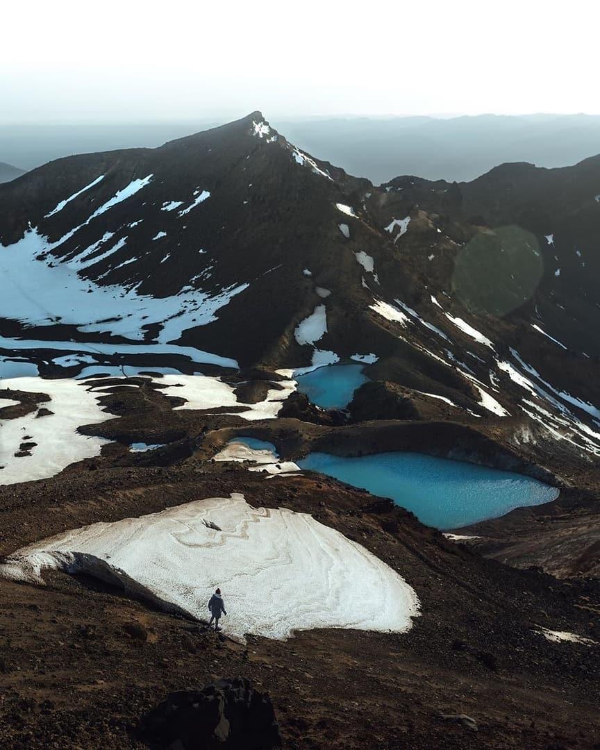 Công viên quốc gia Tongariro nằm ở đâu?
