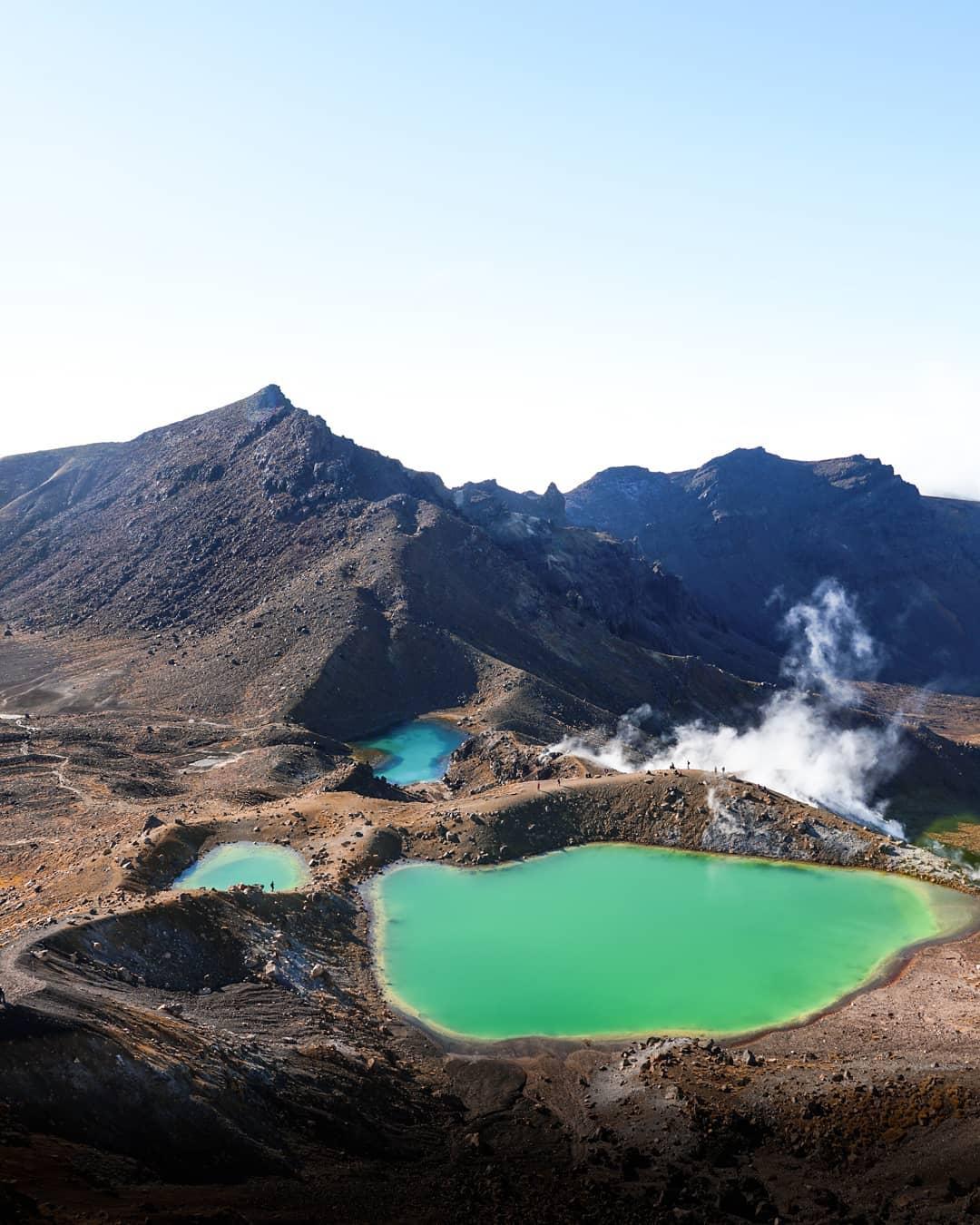 Khám phá vẻ đẹp của công viên quốc gia Tongariro