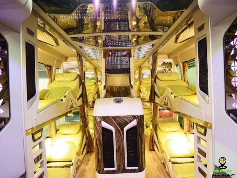 Nhà xe Limousine Ngọc Ánh được rất nhiều khách hàng yêu thích chuyên chạy tuyến Sài Gòn - Cà Mau