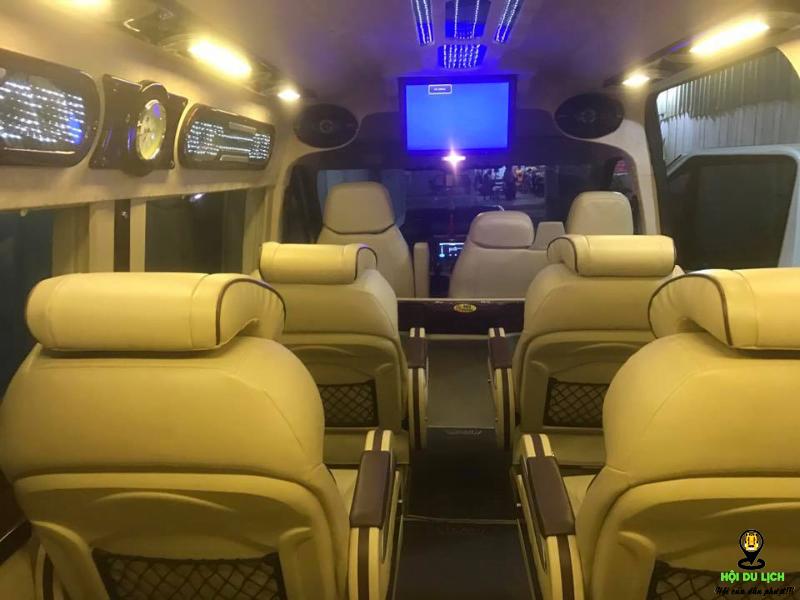 Nhà xe Nam Á Châu limousine