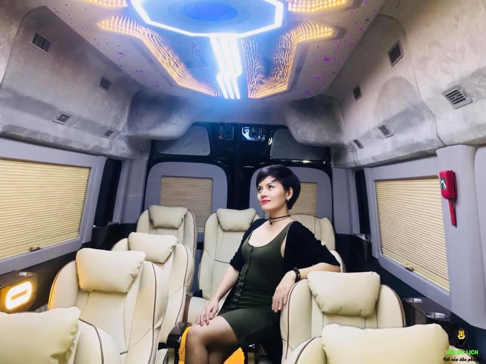 Nhà xe Đan Anh limousine mang đến trải nghiệm tuyệt vời trong mỗi chuyến đi