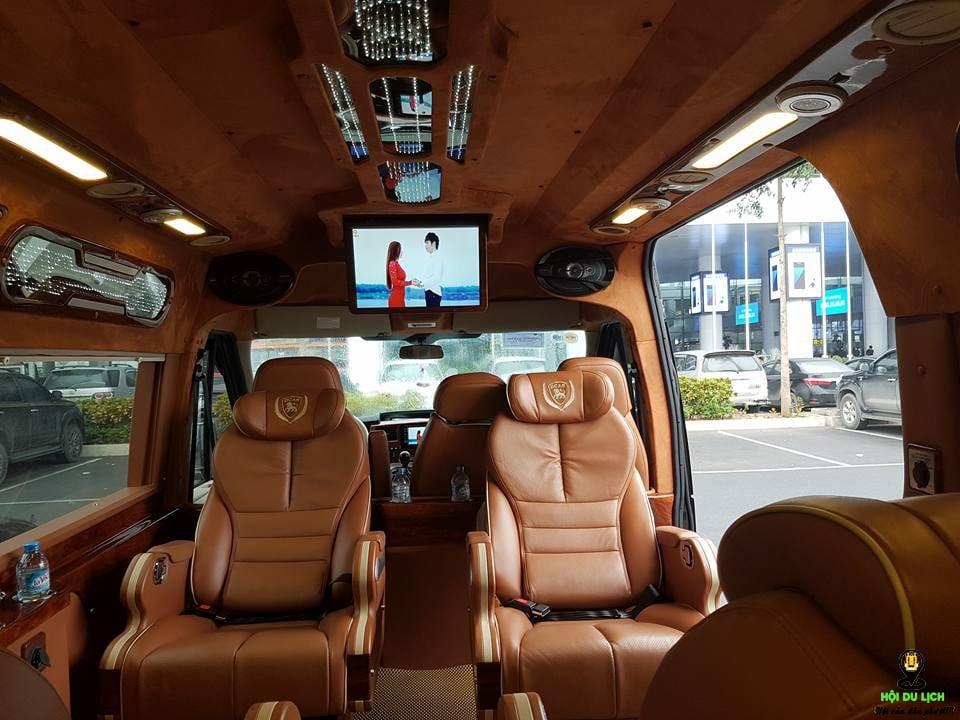 Xe limousineThái Dương từ Sài Gòn đi Kiên Giang