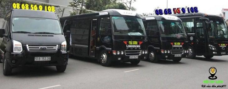 Top nhà xe limousine từ Sài Gòn đi Kiên Giang
