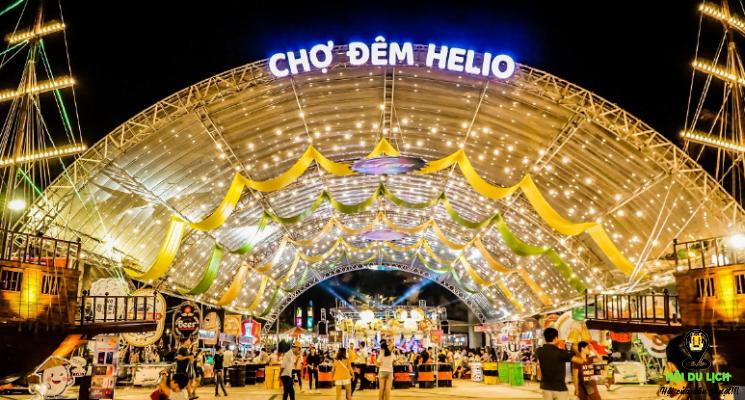 Chợ đêm Helio ở Đà Nẵng ( ảnh sưu tầm)