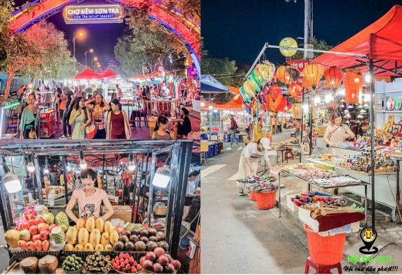 Chợ đêm Sơn Trà luôn hấp dẫn khách du lịch (ảnh sưu tầm)