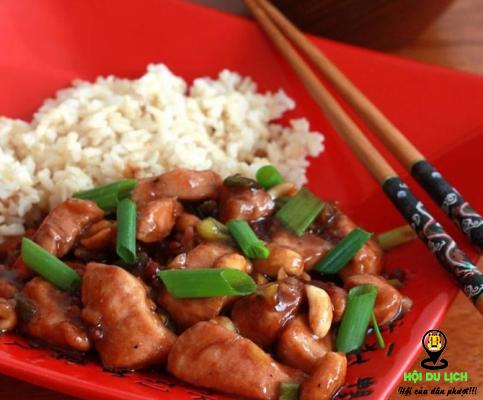 Món gà Kung Pao ngon nổi tiếng Thâm Quyến (ảnh sưu tầm)