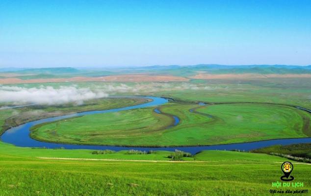 Thảo nguyên Hulun Buir (ảnh sưu tầm)