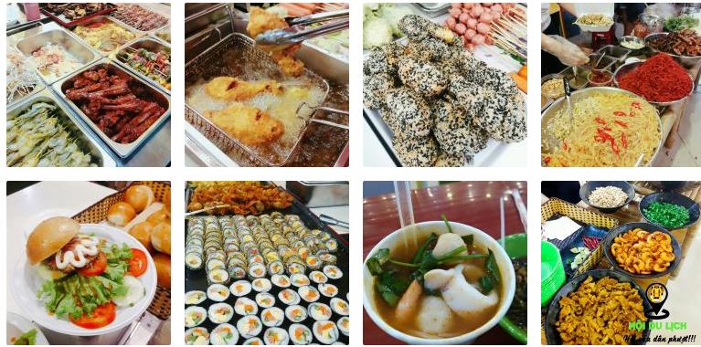 Thiên đường ẩm thực chợ đêm Helio ở Đà Nẵng (ảnh sưu tầm)