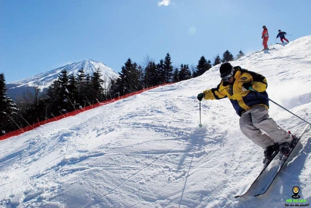 Trượt tuyết tại Fujiten mang đến cho bạn những trải nghiệm tuyệt vời