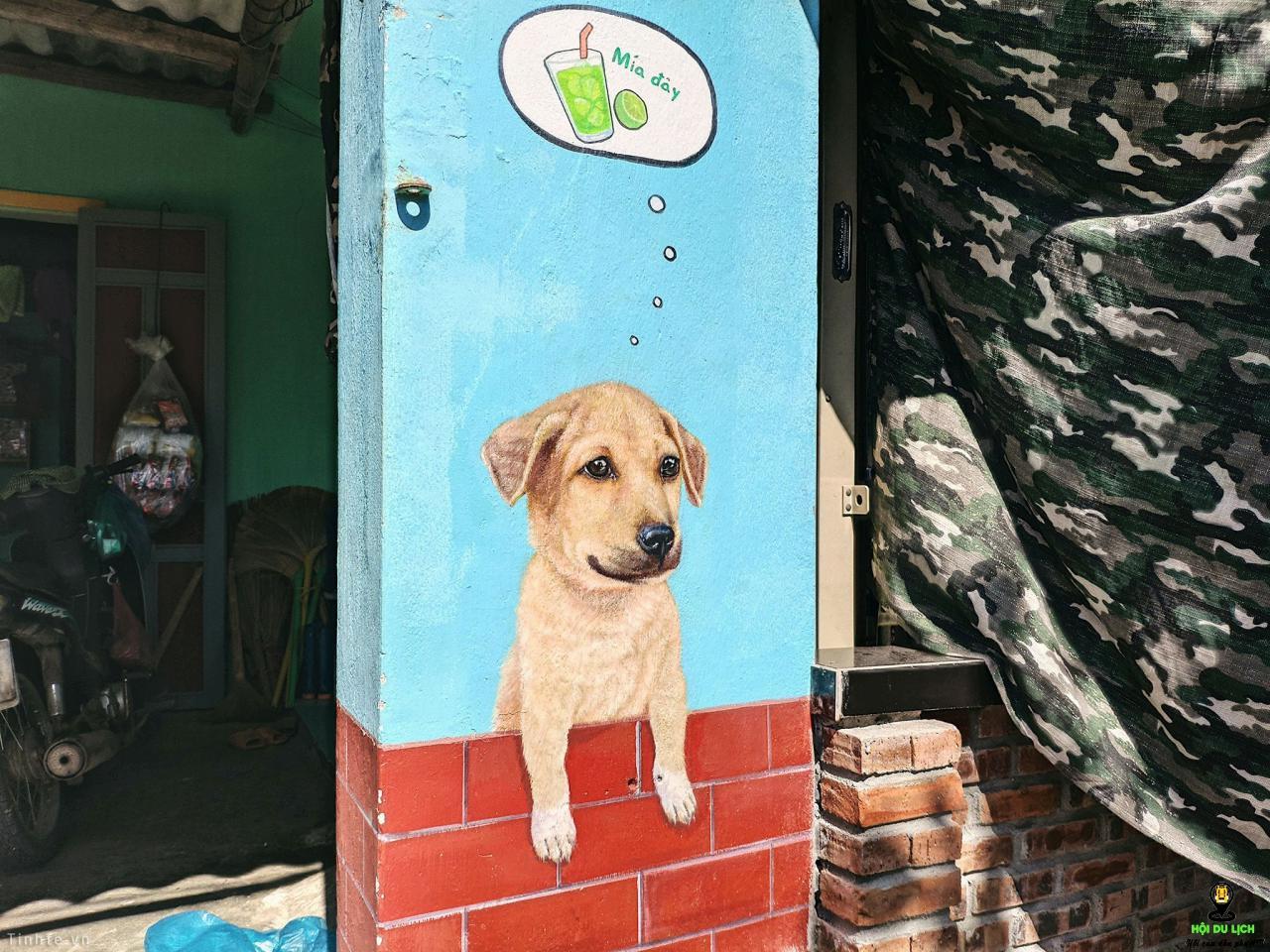 Làng Bích Họa Tam Thanh: Tuyệt tác tranh tường tại Việt Nam
