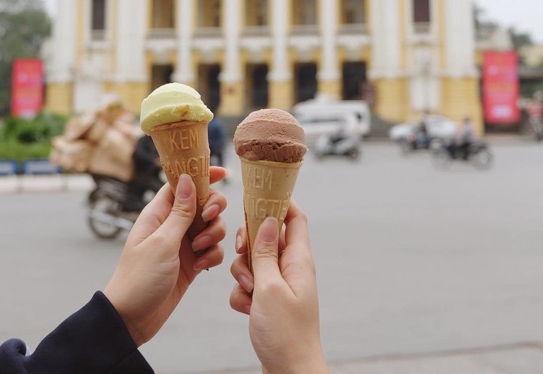 Top 4 quán kem ngon lâu đời tại Hà Nội