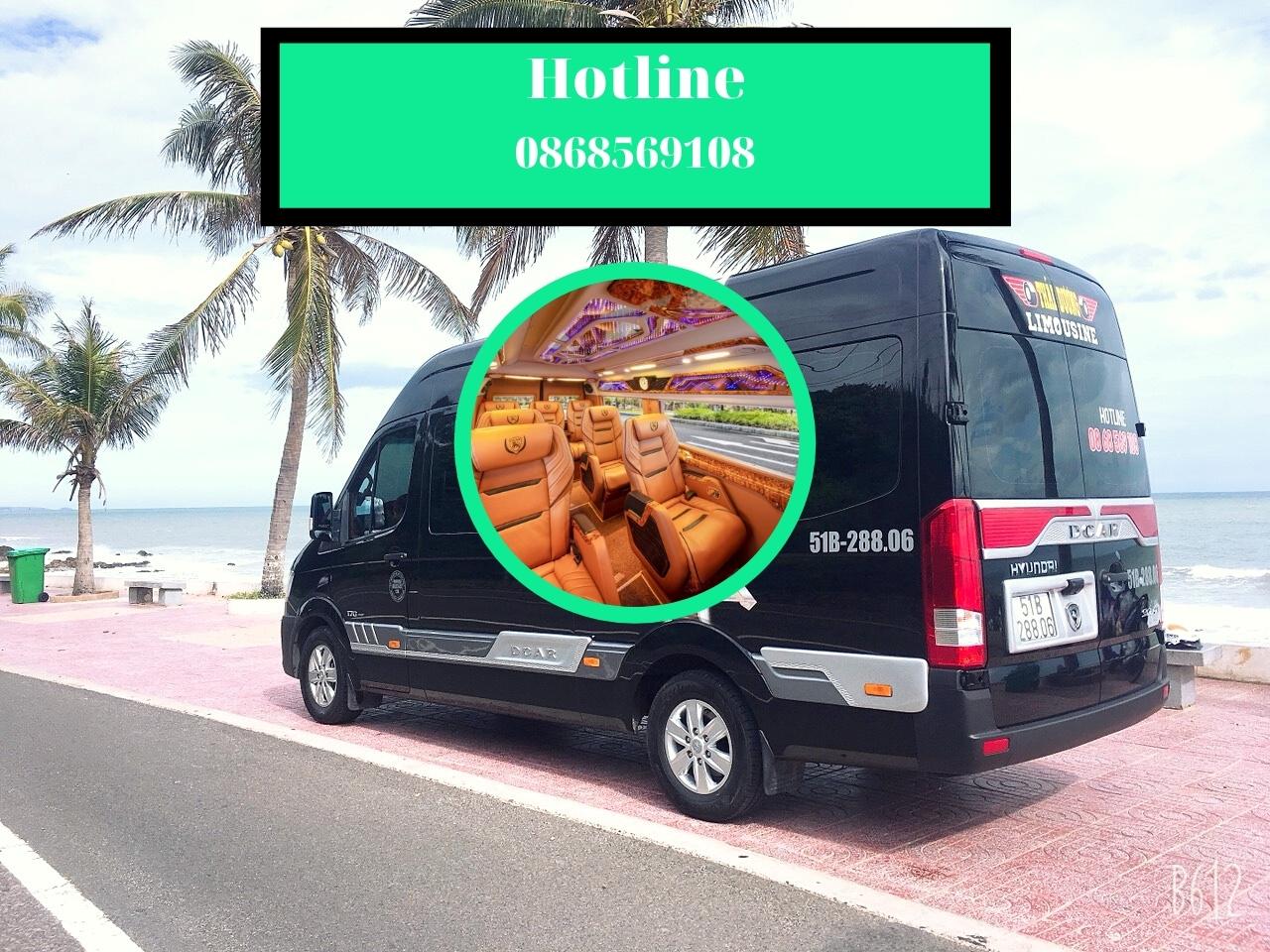 Thuê xe LimousineThái Dương đi Cần Thơ