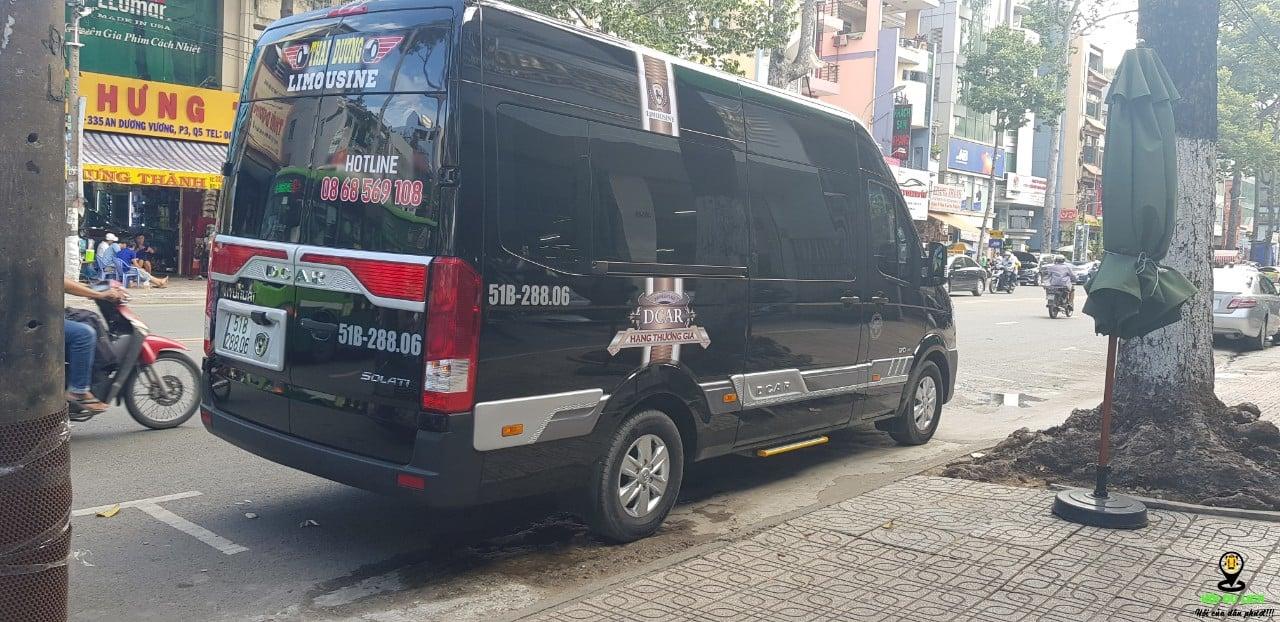 Xe Vip Limousine thái dương cho thuê đi Tây Ninh